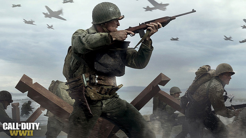 anh trong game call of duty wwii